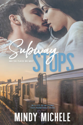 book cover for author Mindy Michele book Subway Stops and the Places We Meet