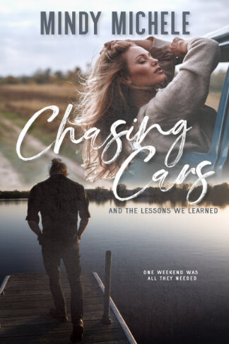 Mindy Michele book cover for Chasing Cars and the Lessons We Learned