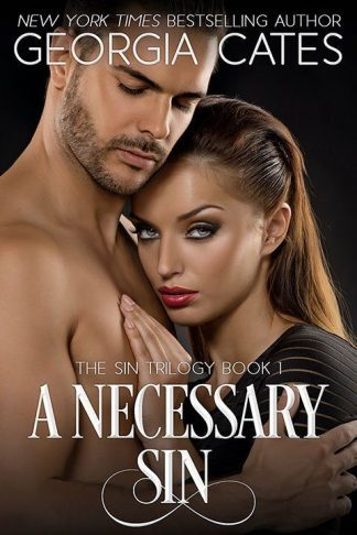 A Necessary Sin book cover by author georgia cates