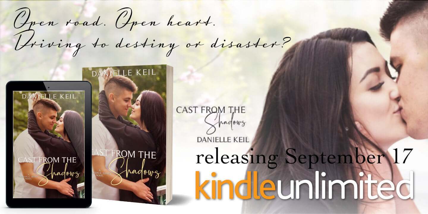 Ad for Cast from the Shadows by Author Danielle Kelil