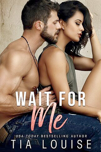 book cover for wait for me by tia louise