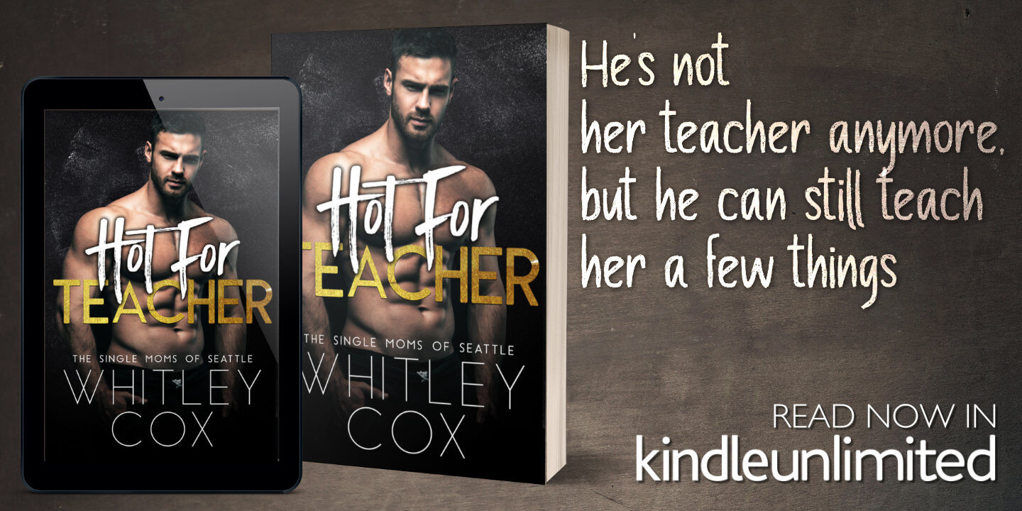 Ad for Whitley Cox Book Hot For Teacher